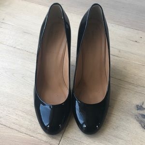 J Crew Patent leather pumps